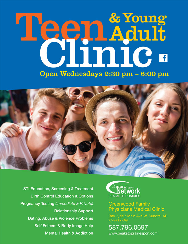 TEEN & YOUNG ADULT CLINIC